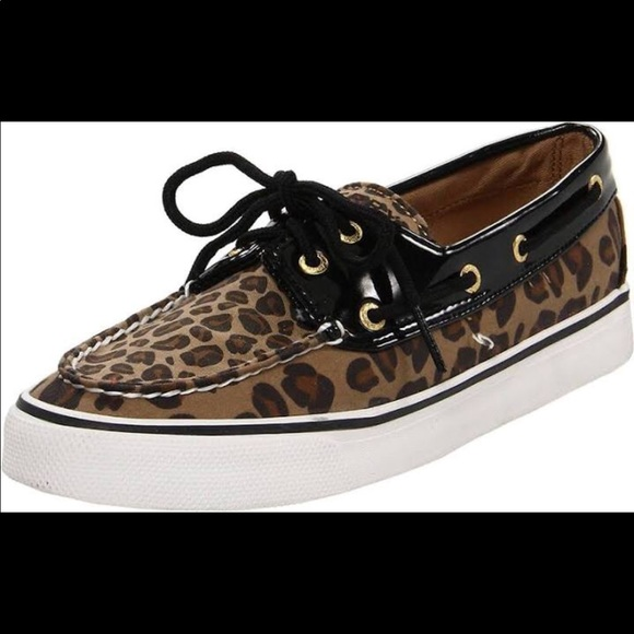 Sperry Shoes | Womens Leopard Print S